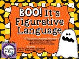 Boo! It's Figurative Language (Halloween Literary Device Unit)