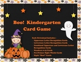 Pre-Primer Sight Word, Numbers and Letters - Boo! Card Game!
