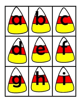Boo! Letter Recognition Game