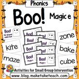 Magic e - Boo! A Halloween Game