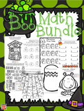 Boo Math Bundle: 87 pages of Halloween Fun for a Variety o