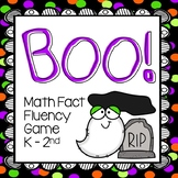 Boo! Math Fact Fluency Card Game | Addition and Subtraction within 20