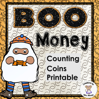 Math- Money - Counting Coins - Boo Money