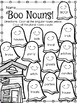 Boo!  October No Prep Printables
