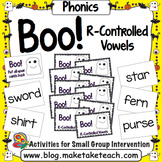 R-Controlled Vowels - Boo! A Halloween Game