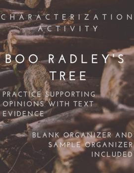 Boo Radley's Tree - Characterization Activity - To Kill a Mockingbird