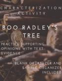 Boo Radley's Tree - Characterization Activity - To Kill a