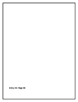 Boo Radley's Diary