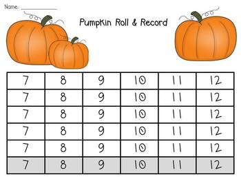 Boo!  Spooky Fun Math Centers