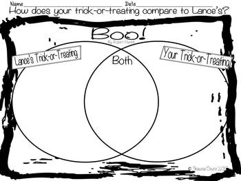 Compare and Contrast Freebie inspired by Boo! by Robert Munsch
