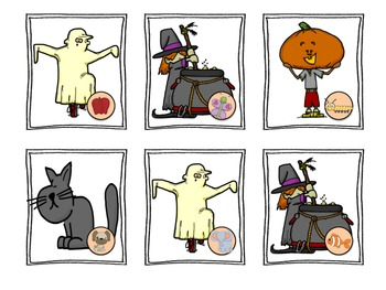 Halloween Boo-ginning Sounds (Beginning Sounds)