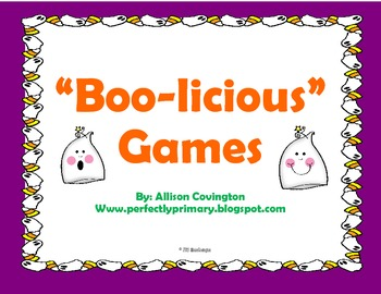 """Boo-licious"" Games"