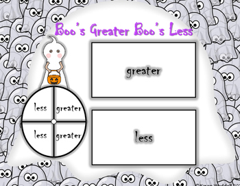 Boo's Greater, Boo's Less