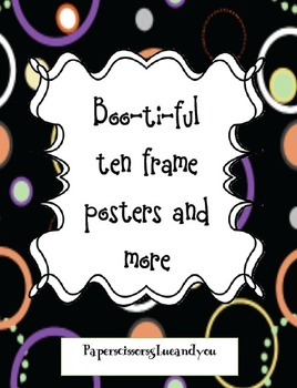 Boo-ti-ful Ten Frames