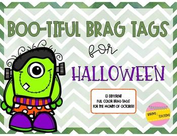 Boo-tiful Brag Tags