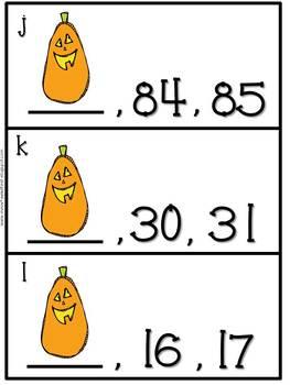 First Grade Centers: Halloween