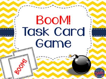 BooM!  Task Card Game