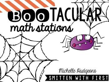 BooTACULAR Math Stations