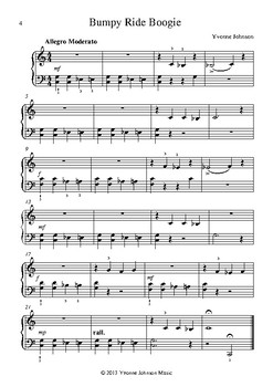 Boogie Blues - 3 Level 1 Piano Solos
