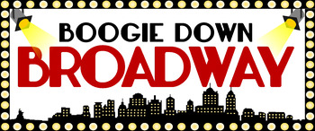 Boogie Down Broadway Banner