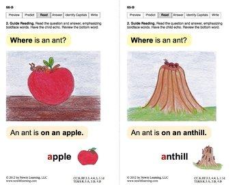 Book 11: Identify Letters M, S, F, H, T, A, Short A, C, P, L (Newitt Decoding)