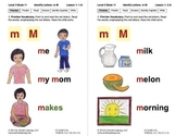 Book 11: Identify Letters M, S, F, H, T, A, Short A, C, P,