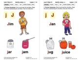 Book 15: Identify Letters J, B, W, I, Short I, Z, Y, Q, X, U, Short U