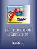 Book 5: English Grammar Workbooks from Level 1 to Level 10