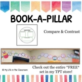 Book-A-Pillar -- Comparing and Contrasting {PRINTABLE!}