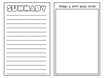 Book About A Book- {book report in the form of a book!}