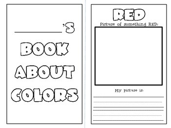 Book About Colors! {And 10 Bonus Printables!}