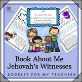 Book About Me - Educating & Supporting Teachers about Jehovah's Witnesses