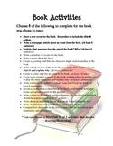 Book Activities: Room 709