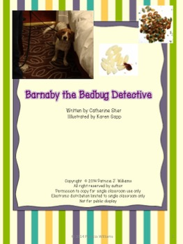 """Book Activities for """"Barnaby the Bedbug Detective"""""""