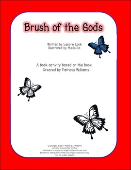 """Book Activities for """"Brush of the Gods"""""""
