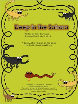 "Book Activities for ""Deep in the Sahara"""