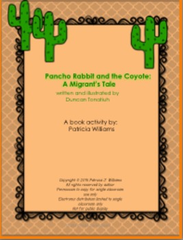 """Book Activities for """"Pancho Rabbit and the Coyote: a Migrant's Tale"""""""