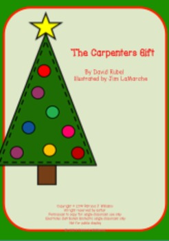 """Book Activities for """"The Carpenter's Gift"""""""