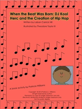 "Book Activities for ""When the Beat was Born"""