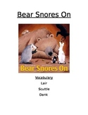 Book Activity: Bear Snores On