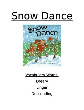 Book Activity: Snow Dance