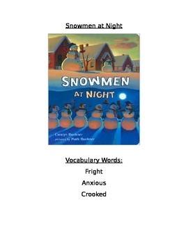Book Activity: Snowman at Night