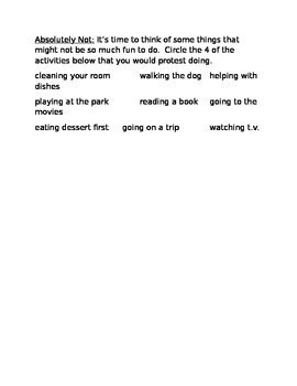 Book Activity: The Boy Who Cried Wolf