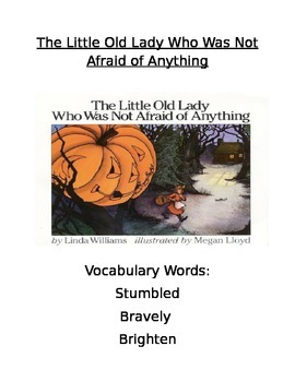 Book Activity: The Little Old Lady