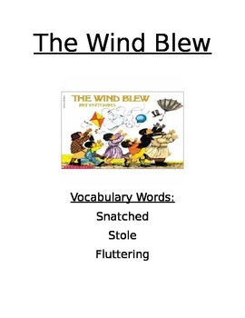 Book Activity: The Wind Blew
