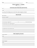 Book Analysis/Book Report