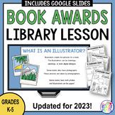 Book Awards Library Lesson -- Caldecott Newbery