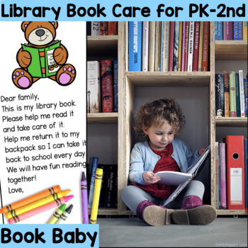Book Care Library Book Song, Game and Bookmarks