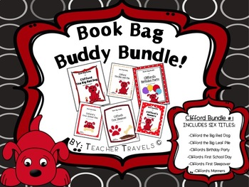 Book Bag Buddy Bundle #1