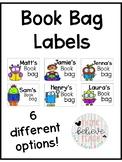 Book Bag Labels